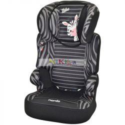 Nania BEFIX autósülés 15-36 kg Zebra