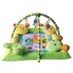 Lorelli Toys játszószőnyeg - With 4 pillow / 4 párnás peremmel