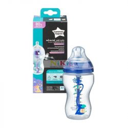 Tommee Tippee Advanced anti-colic cumisüveg 340ml - kék