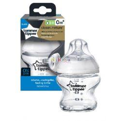 Tommee Tippee Closer to Nature üveg cumisüveg 150 ml