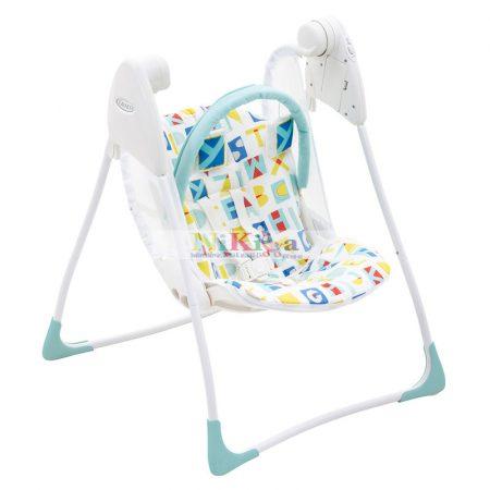 Graco elektromos babahinta Baby Delight Block Alphabet