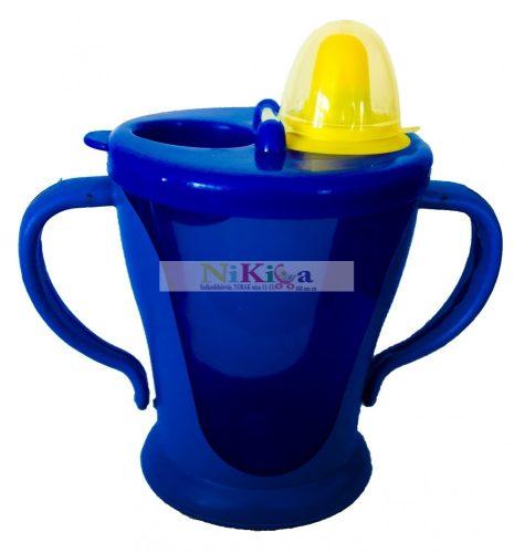 Baby Bruin Kupakos itatópohár kék 270 ml - kék