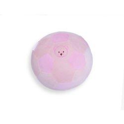 Plüss labda 12,5 cm - pink