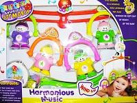 Baby Bruin Kínai babák ugrókötéllel műanyag forgó zenélő
