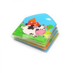 Baby Ono fürdőkönyv 15x15cm háziállatos 889