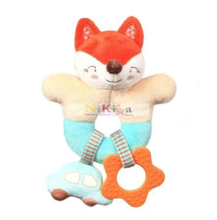 Baby Ono FOX VINCENT plüss csörgő, rágóka 1166