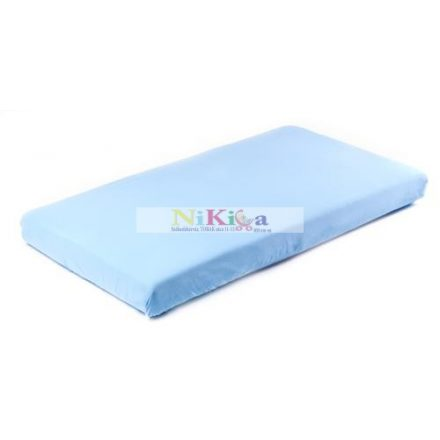 Gumis, matracvédő lepedő 70x140 cm - kék