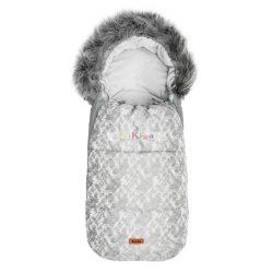 OLAF prémium, szőrmés bundazsák 100x45 cm grey