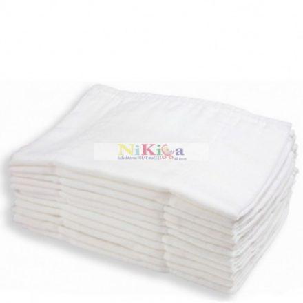 Fehér textilpelenka 10 db