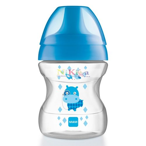 Mam Learn to Drink Cup 190 ml ivópohár kék