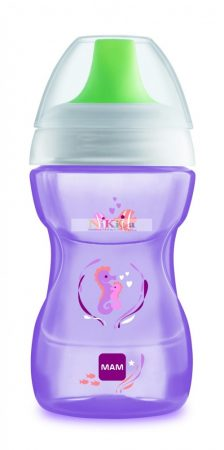 Mam Fun to Drink Cup 270ml ivópohár - lila