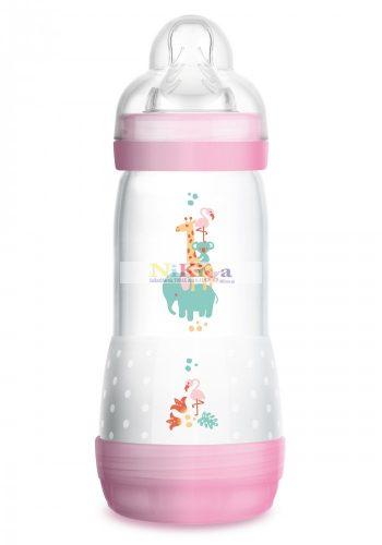 MAM Anti-Colic  cumisüveg 320 ml - rózsaszín