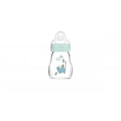 MAM Feel Good üveg cumisüveg 170 ml - kék
