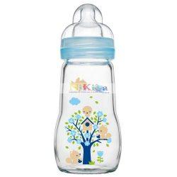 MAM Feel Good üveg cumisüveg 260 ml - kék