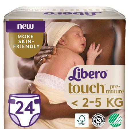 Libero touch koraszülött pelenka <2,5 kg