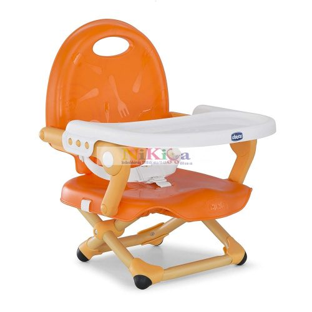 Chicco Pocket Snack székmagasító ülés (etetőszék) - Mandarino