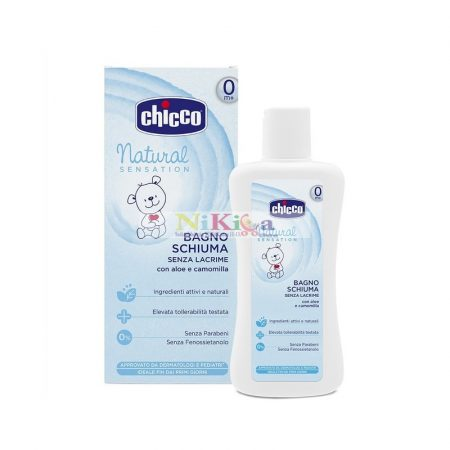 Chicco Natural Sensation könnymentes fürdető - Aloe Vera, Kamilla - 200 ml
