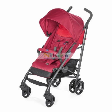 Chicco Lite Way 3 Complete sportbabakocsi Red Berry