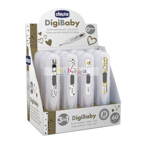Chicco DIGI 3IN1 Ultra-kicsi digitális lázmérő
