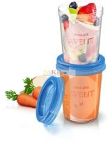Avent Via poharak tetővel 240ml 5db-os SCF639/05