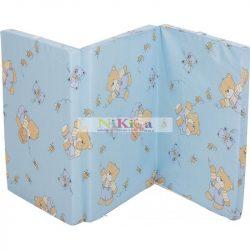 Fillikid matrac utazóágyba kék macis