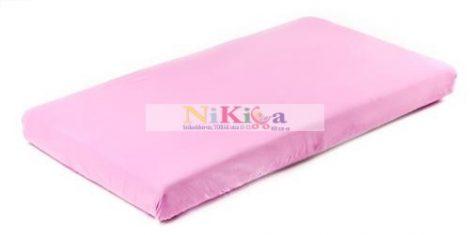 Gumis lepedő 60x120 cm-től 70x140 cm-ig - pink