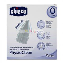 Chicco PhysioClean manuális szívósíphoz alkatrész 10 db