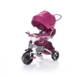 Zopa tricikli CitiGo tolókarral B-T500 Mulberry Pink