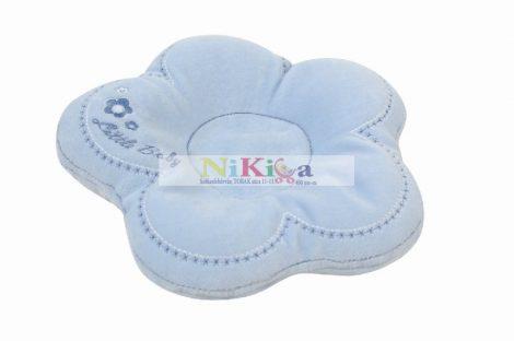 FLOR virág alakú babapárna alváshoz, etetéshez - kék