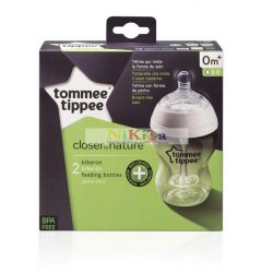 Tommee Tippee Closer to Nature Anti-Colic Plus cumisüveg 2x260ml
