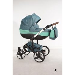 NiKiD's eco háromfunkciós babakocsi turquoise